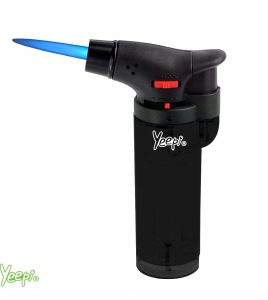 Yeepi Jet Flame Lighter 4200 Frosty Black
