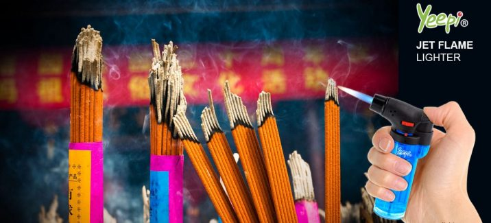 how to light incense sticks